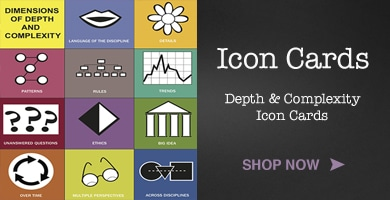 picture regarding Depth and Complexity Icons Printable named Property - J Taylor Training